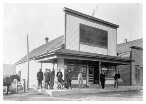 Exterior view of the Charles Petty store, Brewster, Thomas County, Kansas - Page