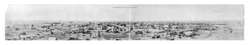 Two panoramic views of Colby, Thomas County, Kansas - Page