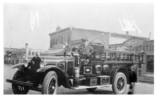 Fire truck, Colby, Kansas fire department, Thomas County, Kansas - Page