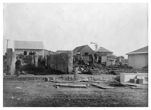 Building destroyed by unidentified disaster, Colby, Thomas County, Kansas - Page