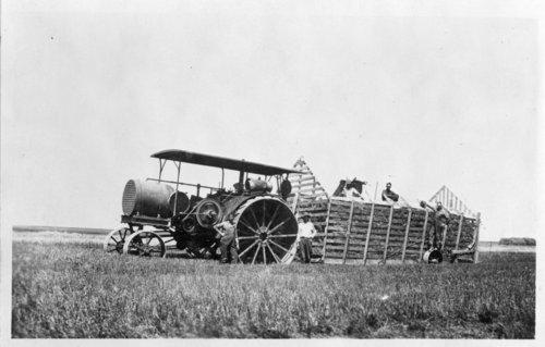 Harvest time at the Harris farm, Thomas County, Kansas - Page