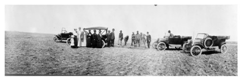 A ceremony in the middle of a field in Thomas County, Kansas - Page