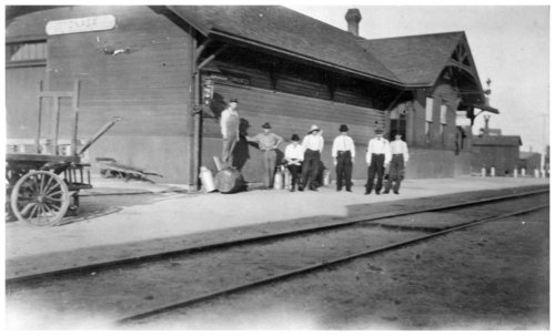 Union Pacific Railroad Company depot, Onaga, Kansas - Page