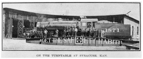 Atchison, Topeka & Santa Fe Railway Company's turntable, Syracuse, Kansas - Page