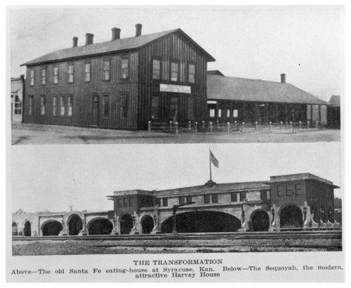 Atchison, Topeka & Santa Fe Railway Company's Fred Harvey Hotel, Syracuse, Kansas - Page