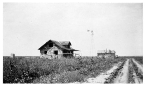 Frank Cersovsky farm home under construction, Thomas County, Kansas - Page