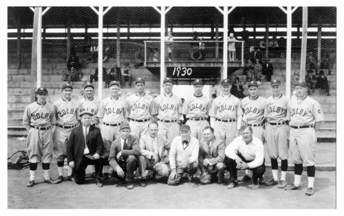 Men's baseball team, Colby, Thomas County, Kansas - Page