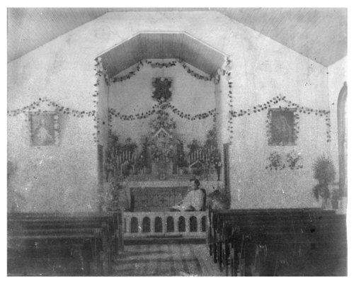Interior view of a Catholic Church, Colby, Thomas County, Kansas - Page
