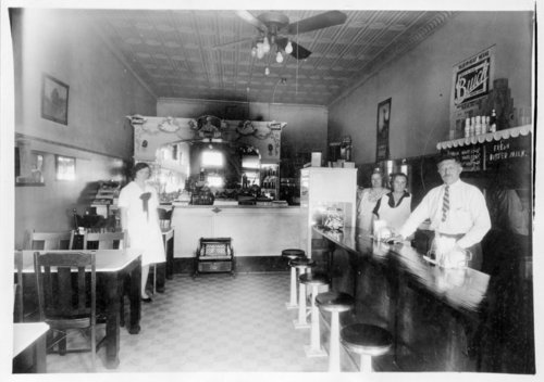 Interior view of Deves Café, Colby, Thomas County, Kansas - Page