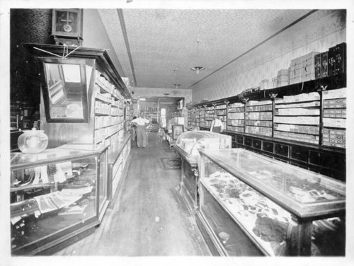 Three interior views of the Boerner and Troutfelter Mercantile store, Colby, Thomas County, Kansas - Page