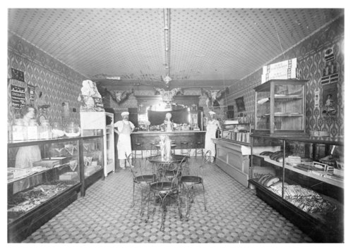 Interior view of the City Bakery, Colby, Thomas County, Kansas - Page