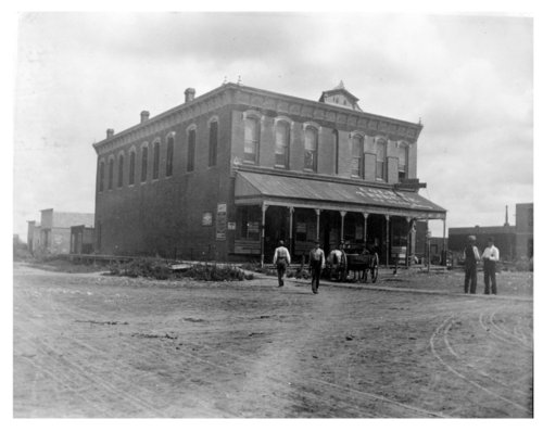 Exterior view of the Colby Mercantile and Fitzgerald Hardware building, Colby, Thomas County, Kansas - Page