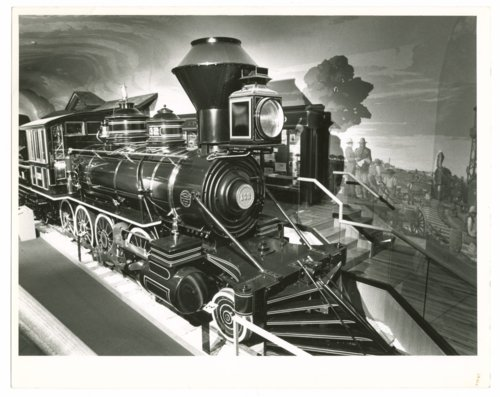 Atchison, Topeka & Santa Fe Railway locomotive No. 132 at the Kansas Museum of History in Topeka, Kansas - Page