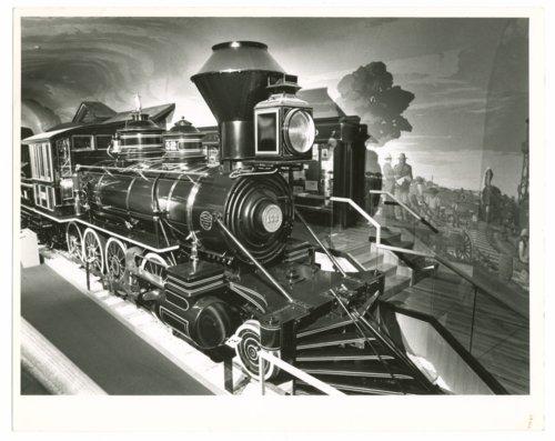 Atchison, Topeka & Santa Fe Railway locomotive No. 132 at the Kansas Museum of History in Topeka, Kansas - Page