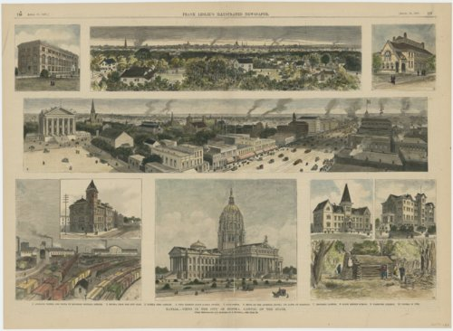 Kansas - views in the city of Topeka, capital of the state - Page