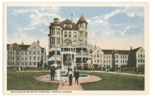 Topeka State Hospital postcard - Page