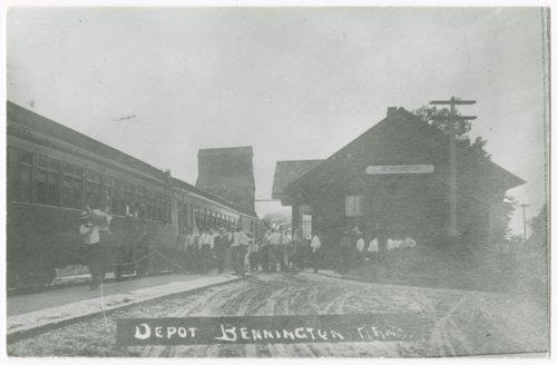 Union Pacific Railroad Company depot, Bennington, Kansas - Page