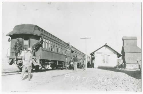 Missouri Pacific Railroad depot, Portis, Kansas - Page