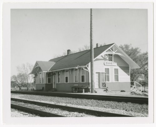 Union Pacific Railroad Company depot, Emmett, Kansas - Page