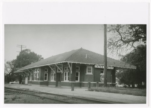 Missouri Pacific Railroad depot, Yates Center, Kansas - Page