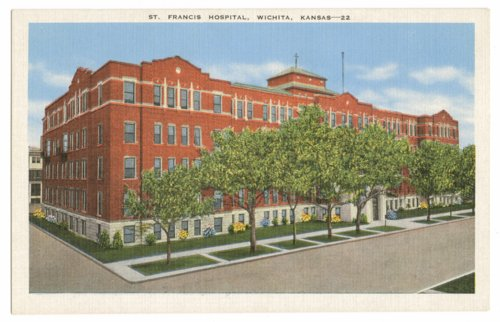 St. Francis Hospital postcard - Page