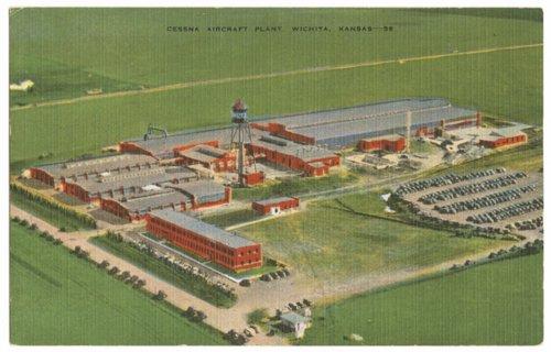 Cessna Aircraft Plant in Wichita, Kansas - Page