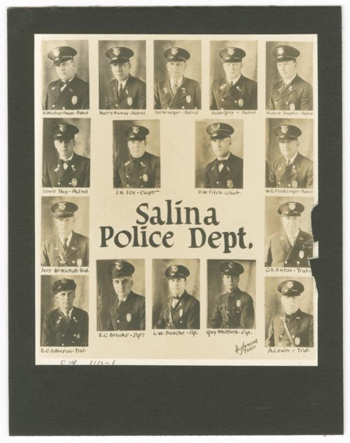Members of the Salina Police Department in Salina, Kansas - Page