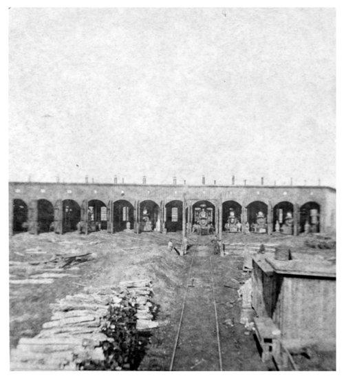 St. Louis-San Francisco Railway roundhouse, Neodesha, Kansas - Page