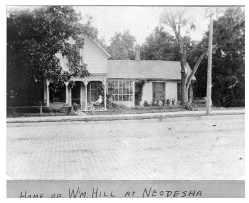 Home of William Hill, 6th and Main, Neodesha, Wilson County, Kansas - Page