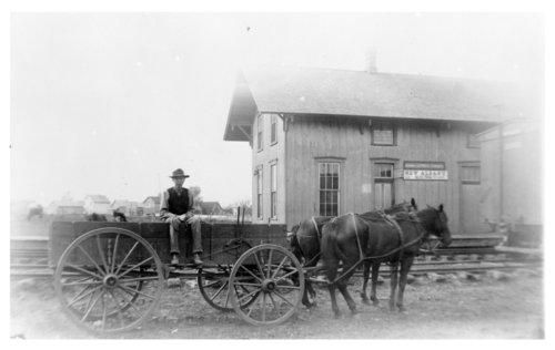St. Louis-San Francisco Railway depot, New Albany, Kansas - Page
