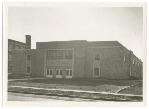 Gymnasium, Neodesha High School, Wilson County, Kansas - Page