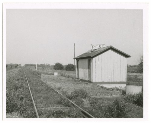 Atchison, Topeka and Santa Fe Railway Company depot, Rest, Kansas - Page