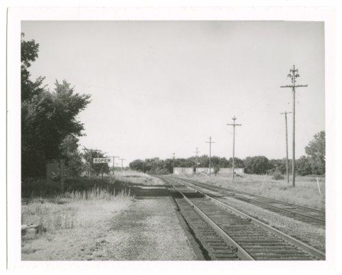 Missouri Pacific Railroad Company's sign board, Roper, Kansas - Page