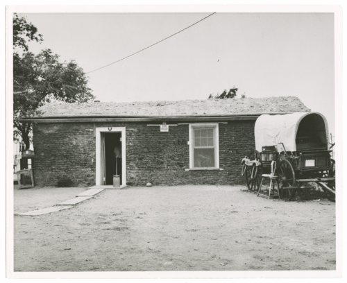 Several views of the exteriors of the buildings at the Sod House Museum, Colby, Thomas County, Kansas - Page