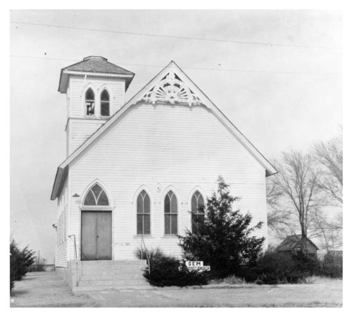 Gem Methodist Church photograph - Page