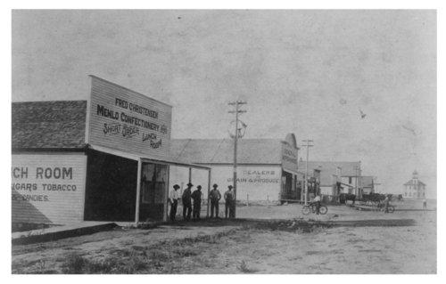 Menlo main street photograph - Page