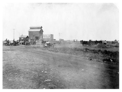 Rexford grain elevator photograph - Page