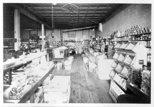 Clyde C. Thompson general merchandise store - Page