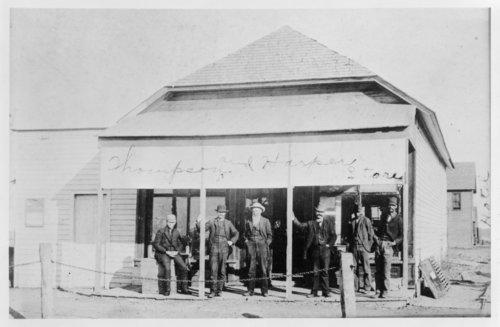 Thompson and Harper hardward store, Rexford, Thomas County, Kansas - Page