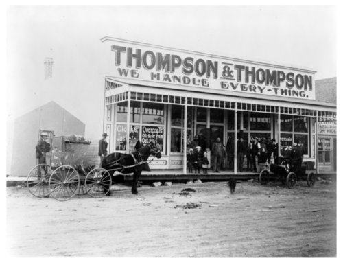 Thompson and Thompson general store photograph - Page