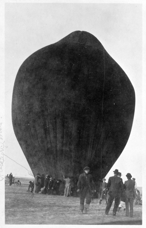 Hot air balloon, Rexford, Thomas County, Kansas - Page