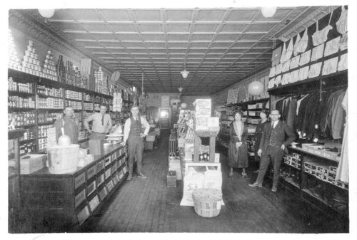 Interior view of the Dimmitt and Larson general merchandise store, Colby, Thomas County, Kansas - Page