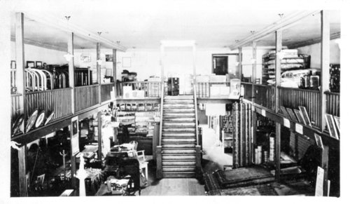 Interior views of the Nick Schroeder furniture store, Colby, Thomas County, Kansas - Page