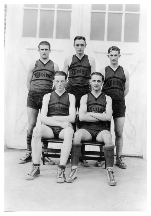 Colby High School men's basketball team, Colby, Thomas County, Kansas - Page