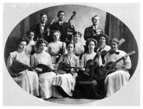 String and horn band photograph - Page