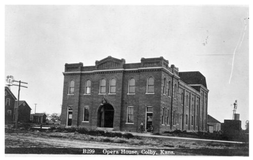 Colby Opera House, Colby, Thomas County, Kansas - Page
