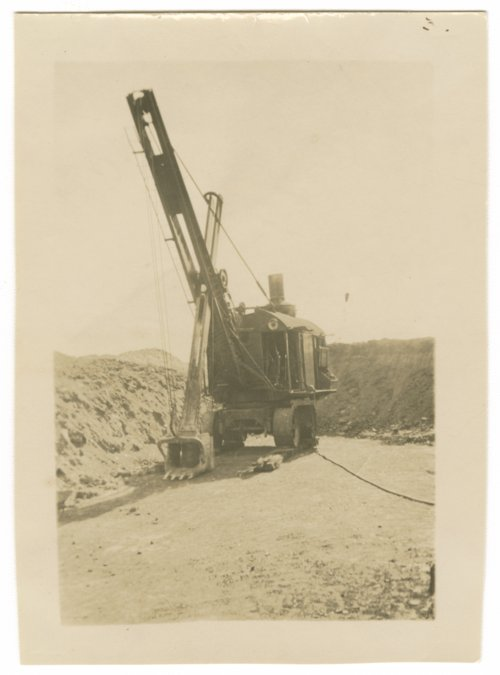 Askins Coal steam shovel - Page