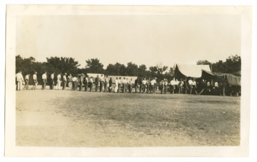 Civilian Conservation Corps at Camp Whitside at Fort Riley, Kansas - Page