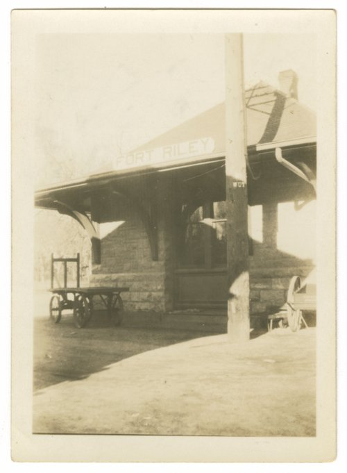 Union Pacific Railroad Company depot, Fort Riley, Kansas - Page