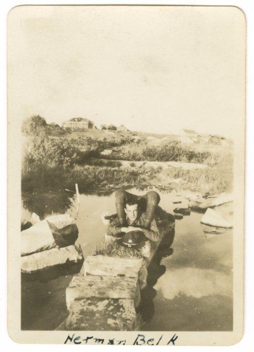 Herman Belk at Fort Riley, Kansas - Page